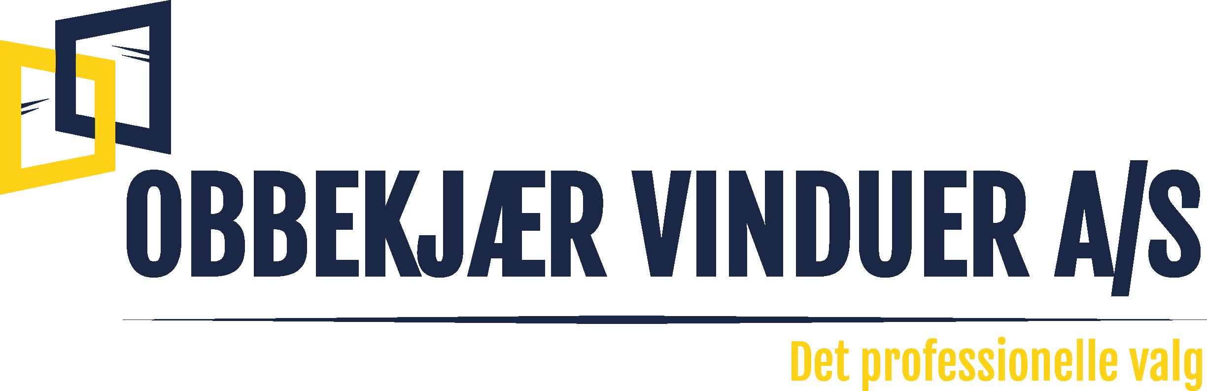 Obbekjær Vinduer Logo
